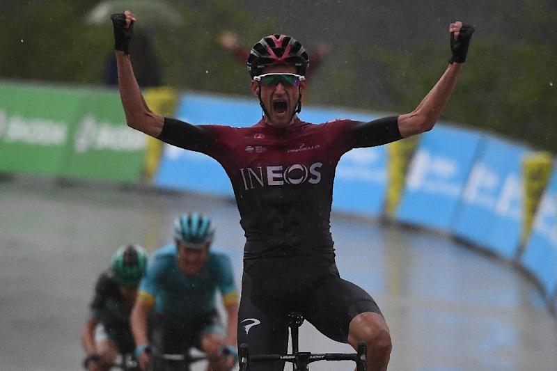 Froome lieutenant Wout Poels of Ineos won the Criterium 'Queen' stage