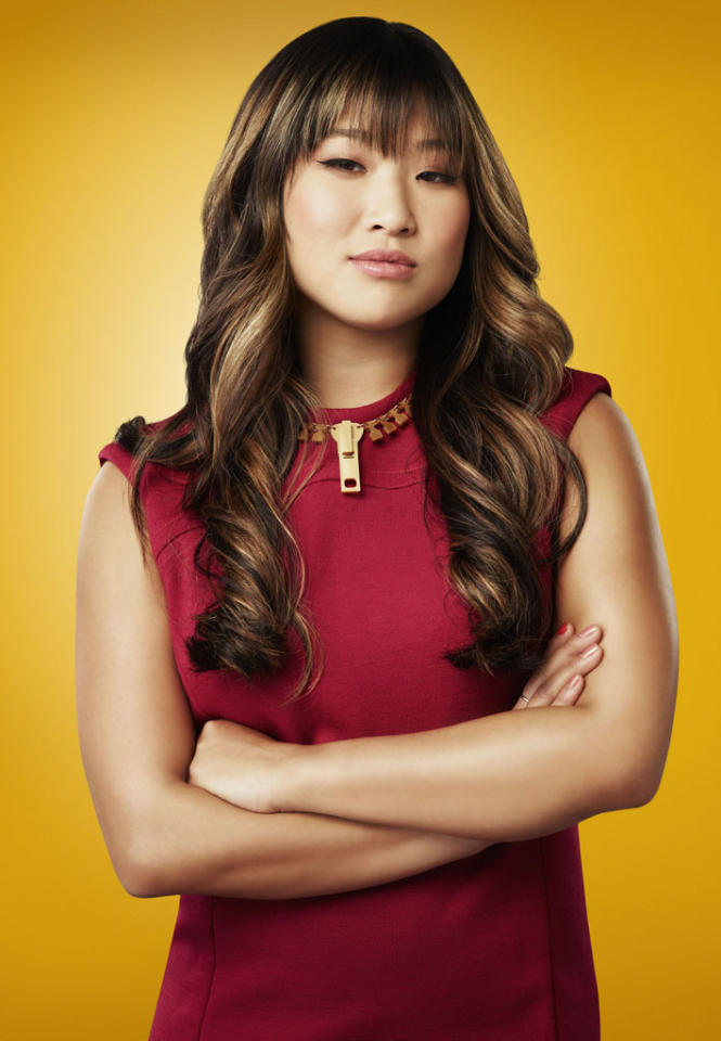 "Jenna Ushkowitz as Tina in ""Glee."""