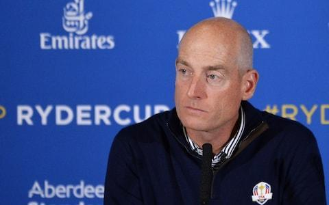 <span>Jim Furyk is set to captain Team USA in France in September</span> <span>Credit: Getty Images </span>