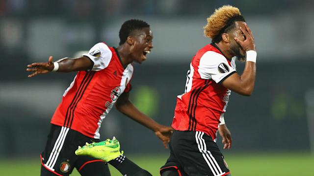 The Netherlands international helped to nudge his side a step closer to the Eredivisie title with a well-taken effort against Heerenveen