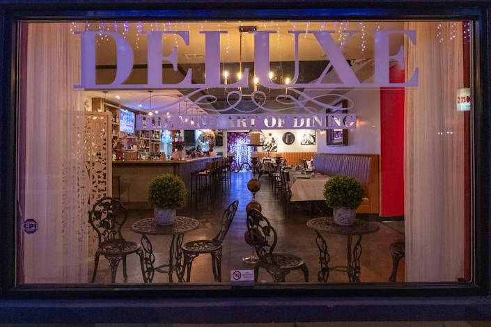 Deluxe, The Fine Art of Dining, updated its menu and interiors, and even added an outdoor patio during the pandemic.