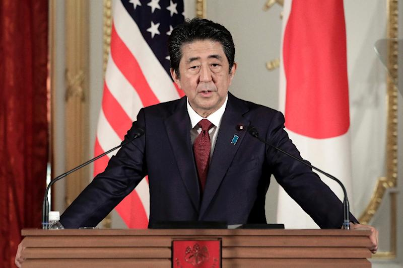 Japan's PM Shinzo Abe will not present Tehran with a list of demands or deliver a message from Washington, officials say (AFP Photo/Kiyoshi Ota)