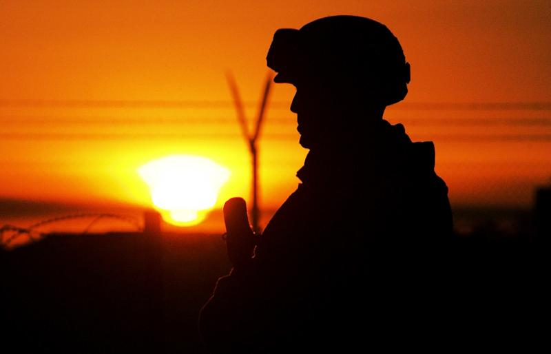 The US has 4,600 troops in Iraq, mostly in advisory or training roles (AFP Photo/Mehdi Fedouach)