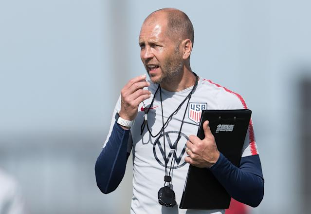Gregg Berhalter missed out on some important opportunities with the USMNT thanks to the coronavirus, but he knows where the biggest priorities lie. (Photo by John Dorton/ISI Photos/Getty Images)
