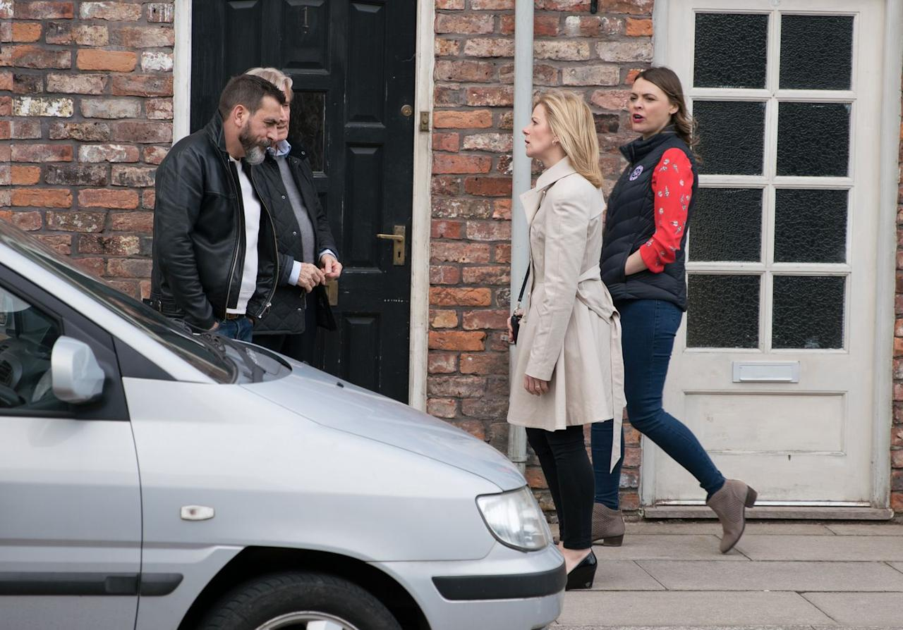 <p>She reckons Simon has too much on, as he's looking after Peter rather than the other way around.</p>