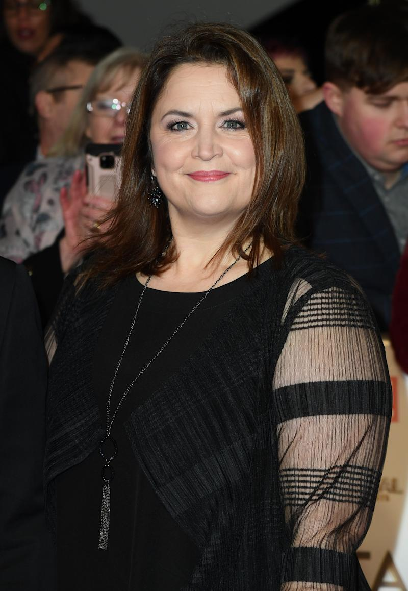 Ruth Jones at the NTAs earlier this year (Photo: Gareth Cattermole via Getty Images)