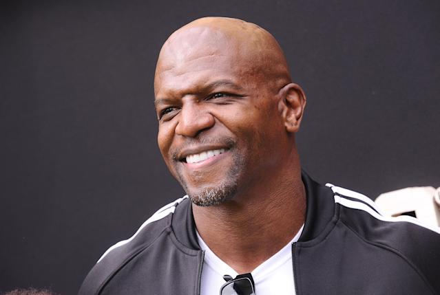"""Actor Terry Crews reportedly filed a police report on Wednesday after he says a """"high-level Hollywood executive"""" groped him at a party last year. (Jason LaVeris via Getty Images)"""