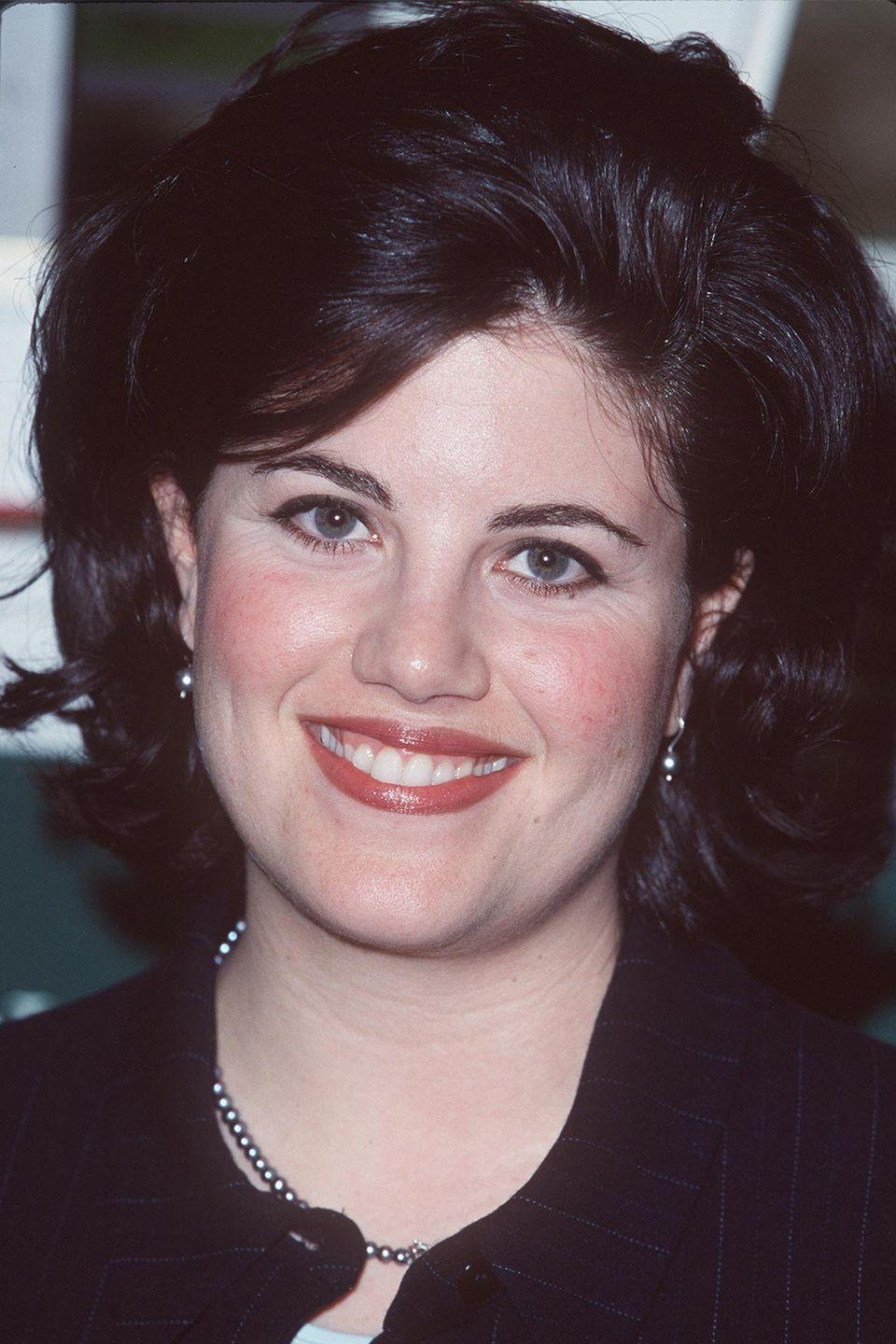 """<p>In 1999, Lewinsky gave a bombshell interview to Barbara Walters, <a href=""""https://www.youtube.com/watch?v=tsfLRtrr4WQ"""" rel=""""nofollow noopener"""" target=""""_blank"""" data-ylk=""""slk:describing the intimate relationship"""" class=""""link rapid-noclick-resp"""">describing the intimate relationship</a> she had during her affair with President Bill Clinton. """"I thought he was my sexual soulmate,"""" she said. """"I think when you allow yourself to open up that way, things happen."""" She goes on for two hours, discussing her flirtations with the president and how the two ended up in bed together.</p>"""