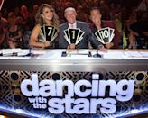 "<p>In 2019, <em>DWTS </em>debuted a new voting system, where live votes from the audience determines a bottom two and then the <a href=""https://www.goldderby.com/article/2019/dancing-with-the-stars-season-28-new-voting-system-how-it-works/"" rel=""nofollow noopener"" target=""_blank"" data-ylk=""slk:judges have the final say"" class=""link rapid-noclick-resp"">judges have the final say</a> on who stays and who goes. This choice was QUITE controversial.</p>"