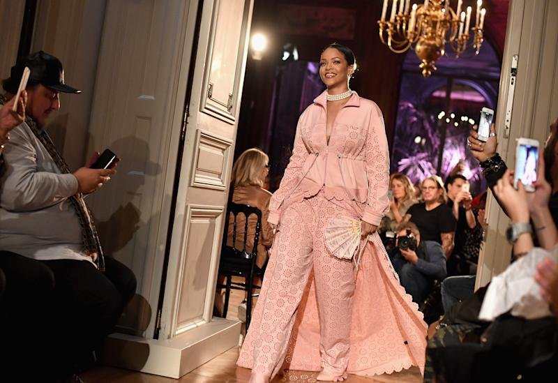 Fenty x Puma By Rihanna Makes Splash In Paris