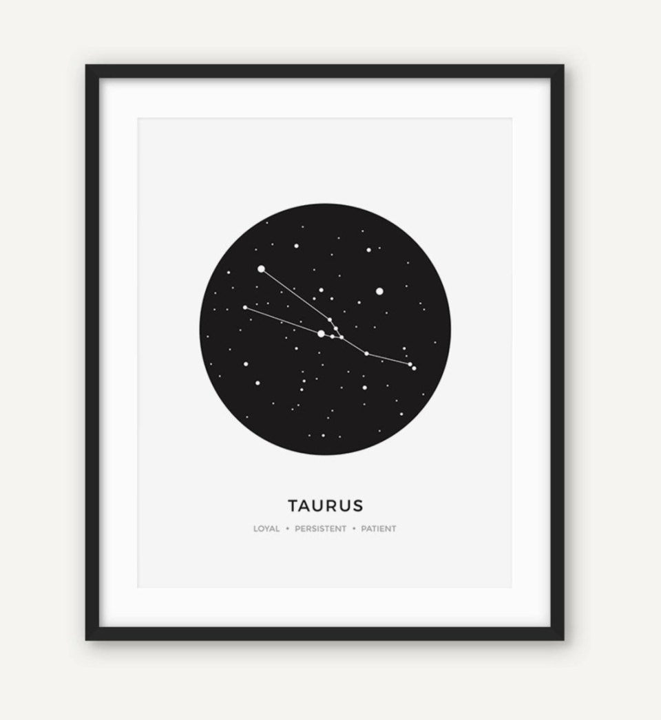 Constellation Print (Photo via Etsy)