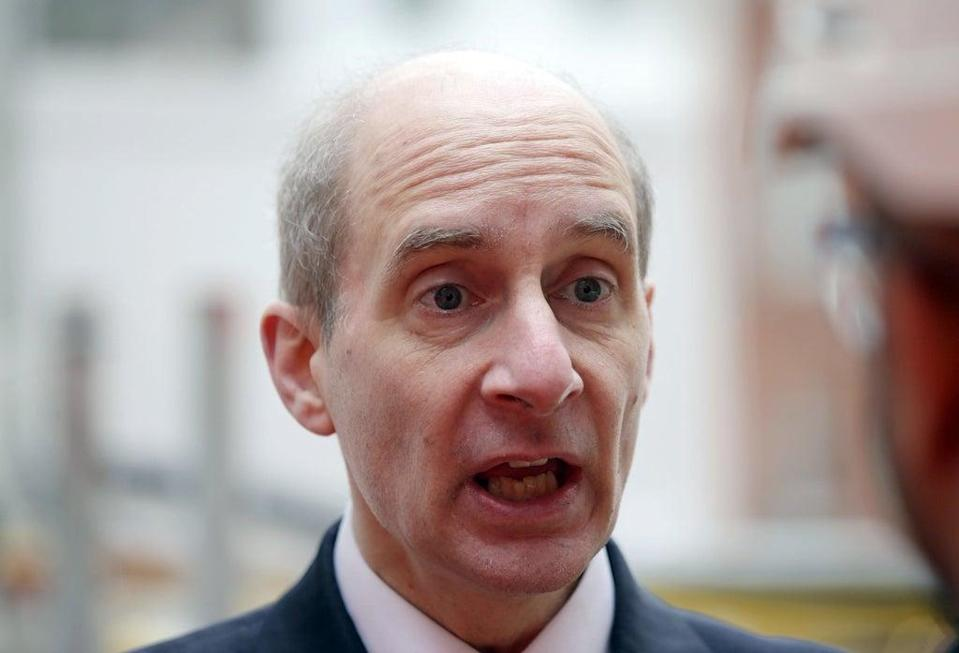 Lord Adonis said there was nothing more important to levelling up than transforming the country's infrastructure (Yui Mok/PA) (PA Archive)