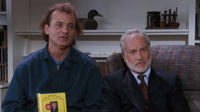 Bill Murray and Richard Dreyfuss in 'What About Bob?' (credit: Buena Vista Pictures)
