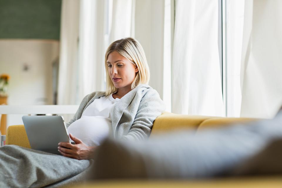 More than three quarters of pregnant women turn to Dr Google for advice. (Getty Images)