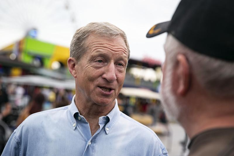 Billionaire Candidate Steyer Admits to Carbon 'Dregs' From His Hedge Fund Days