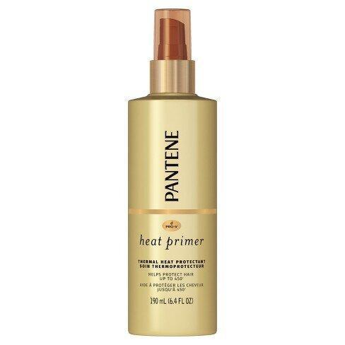 best-heat-protectants-Pantene Pro-V Nutrient Boost Heat Primer Thermal Heat Protection Pre-Styling Spray