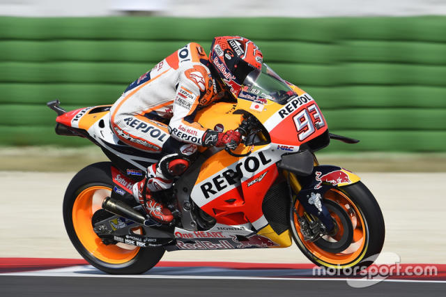 "2016. Marc Márquez <span class=""copyright"">Gold and Goose / Motorsport Images</span>"