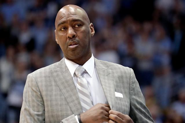 Danny Manning is out at Wake Forest. (AP Photo/Chris Seward)