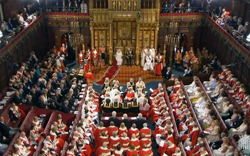 The upper chamber defeated the Government this evening -  UK PARLIAMENTARY RECORDING UNIT/HANDOUT/EPA-EFE/REX