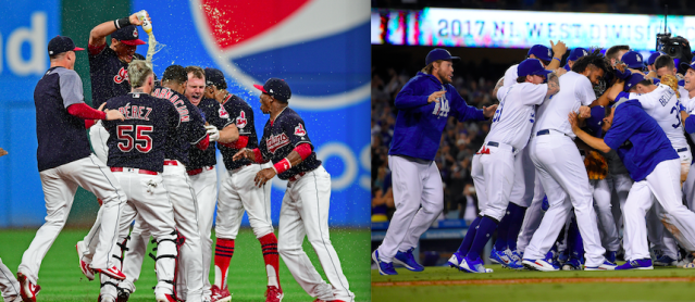 The Dodgers and Indians will be tough to beat in the postseason. (AP Photos)