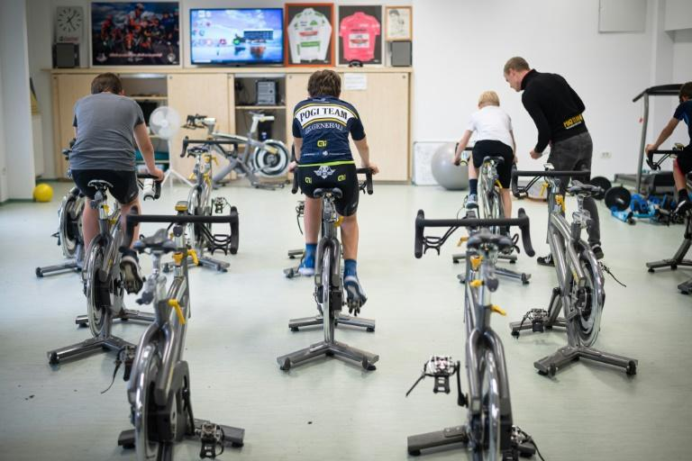 Following their hero: once the club in Ljublana once could not afford a bike for Tadej Pogacar, now he sponsors the junior section which carries his name and trains in a room adorned with his trophies