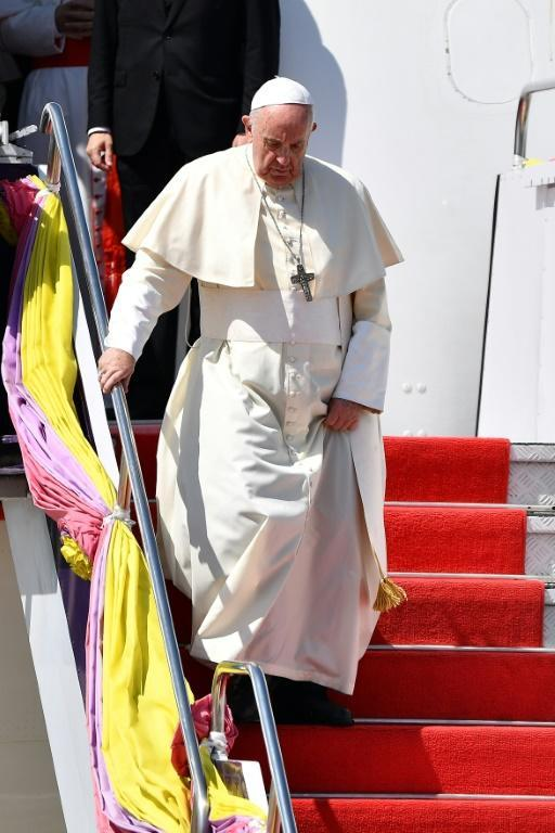 Pope Francis is the first pontiff in nearly four decades to visit Thailand