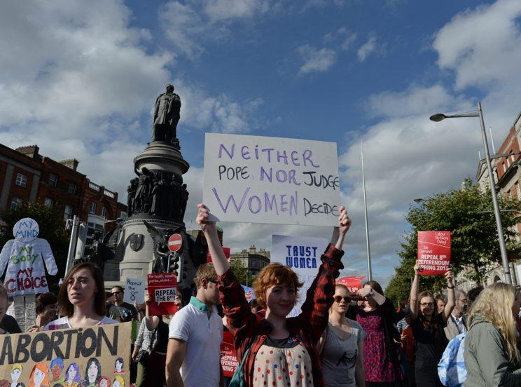 Abortion is more strictly controlled in Ireland than any other country in the EU