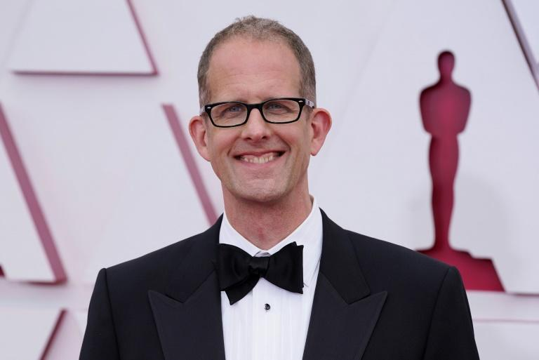 """""""Soul"""" director Pete Docter accepted the Oscar for best animated feature"""