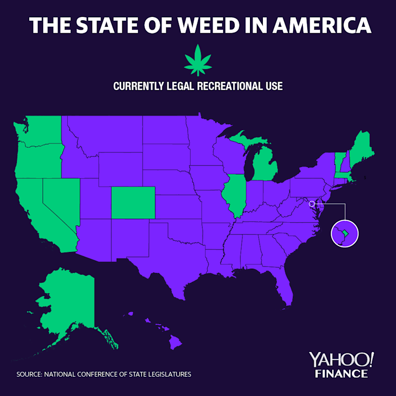 The legal cannabis market in the U.S. could grow by an additional $9 billion if five states weighing ballot measures follow Illinois in becoming the latest to legalize adult-use cannabis, according to New Frontier Data.