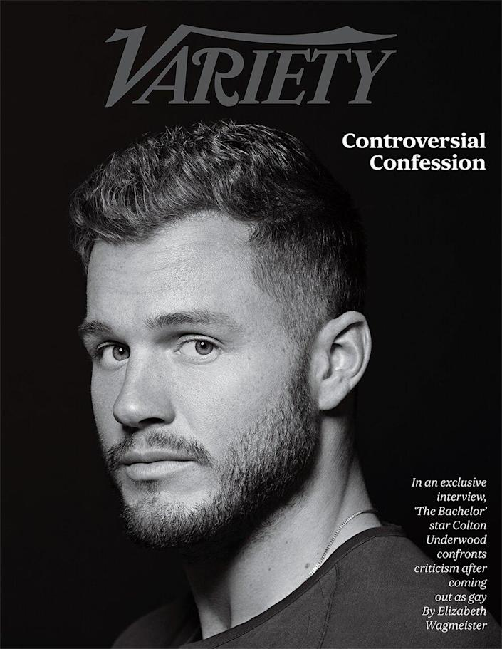 Colton Underwood for Variety