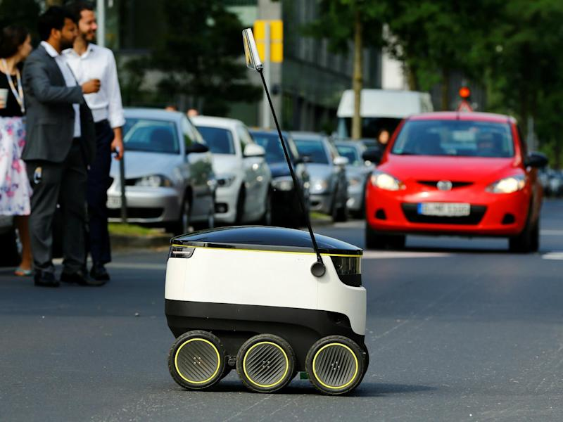 During the trial, human operators will supervise three robots each: REUTERS/Wolfgang Rattay