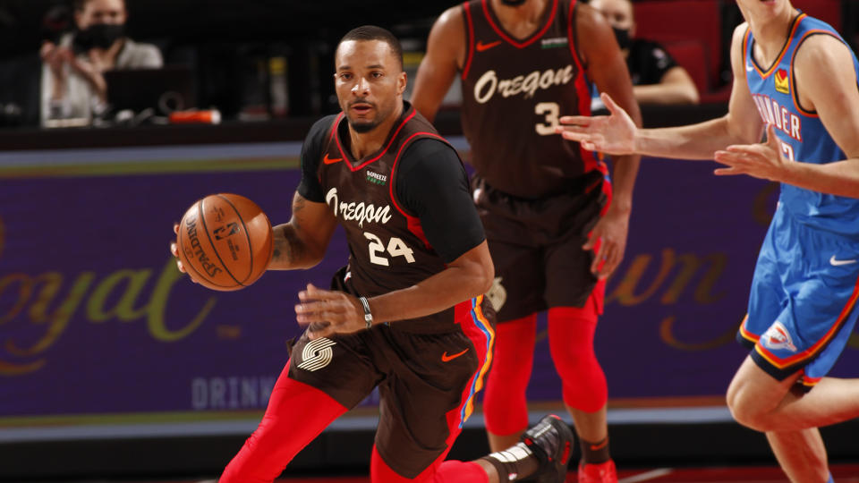 How can you not cheer for Norman Powell? (Photo by Cameron Browne/NBAE via Getty Images)