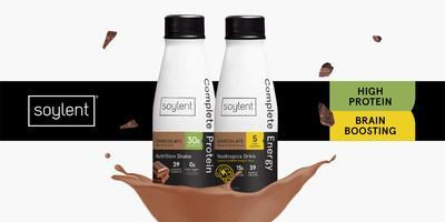 Soylent Complete Protein™ and Soylent Complete Energy™ are extensions of Soylent's market leading line of complete nutrition products.