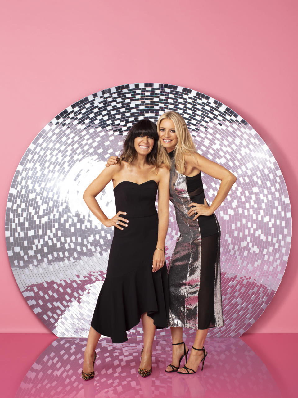 <p>Tess Daly and Claudia Winkleman are returning to their Strictly Come Dancing hosting duties this year. (BBC Pictures). </p>