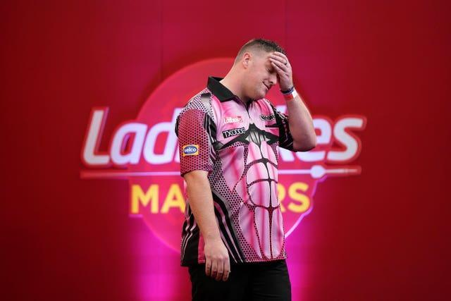 Daryl Gurney was an early casualty