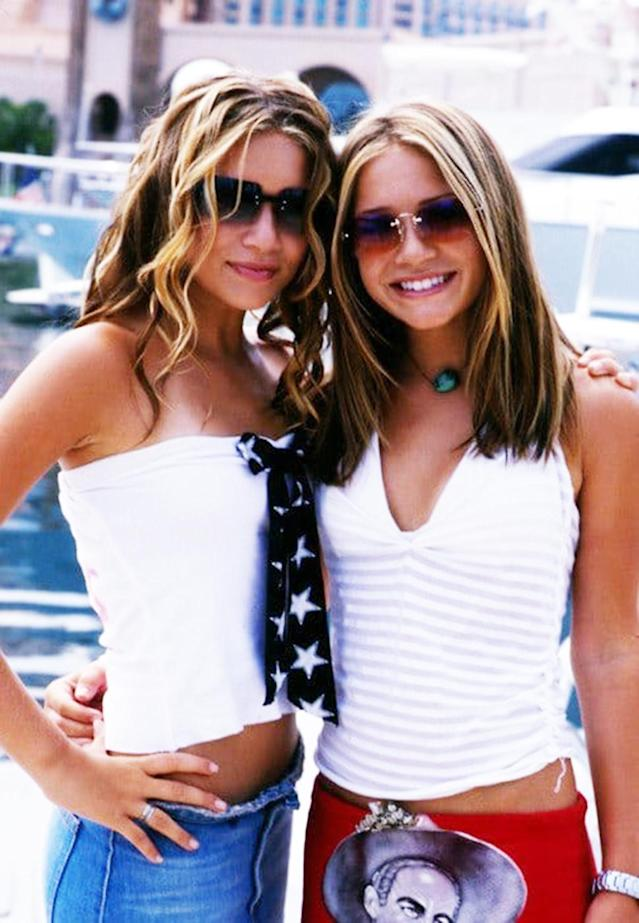 <p>Mary-Kate and Ashley got island style just right in 'Holiday in the Sun'. (Photo: Capital Pictures) </p>