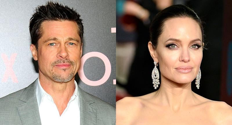 Angelina And Brad's Divorce Is Getting Messy