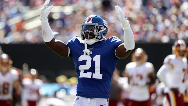 Giants' Jabrill Peppers can earn his money vs. Cardinals, Larry Fitzgerald