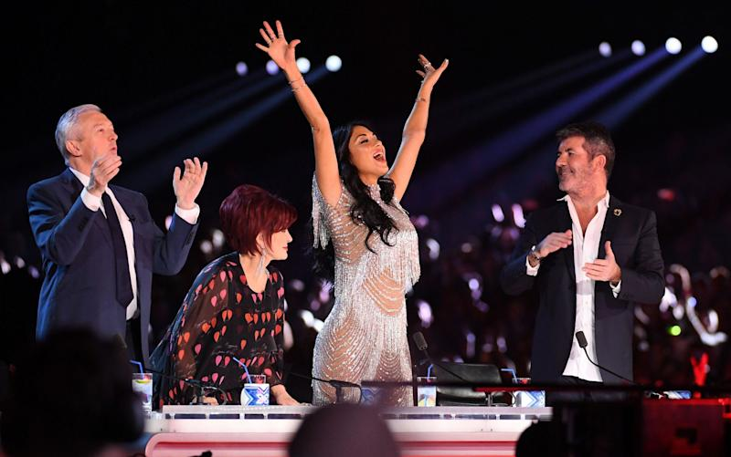 Shake-up: Simon Cowell is reportedly reshuffling the judging panel for the 2018 X Factor - REX/Shutterstock