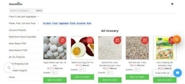 Online Grocery Delivery in the Philippines - HomeGrown Organics