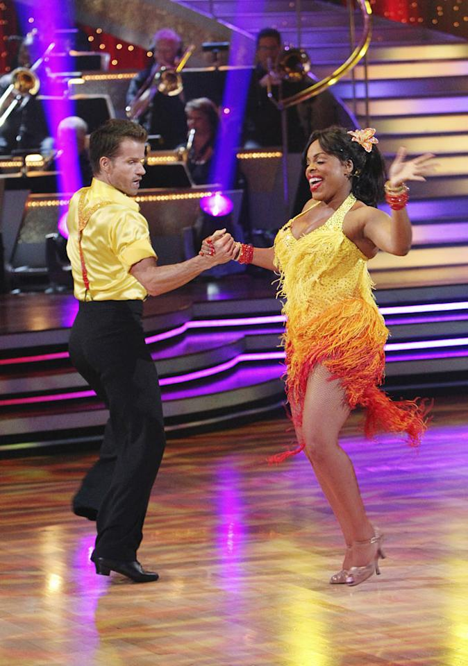 """Niecy Nash and Louis Van Amstel on """"Dancing with the Stars."""""""