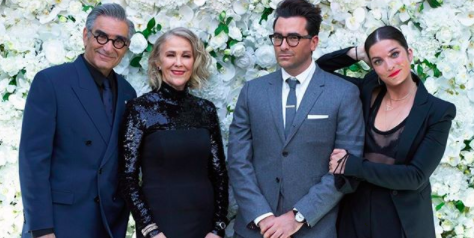 'Schitt's Creek' makes a historic sweep at the Emmy Awards