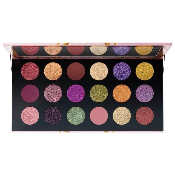 <p>Would you just look at the beautiful colors in this <span>Pat McGrath Labs Mega Mothership: Celestial Divinity Eyeshadow Palette</span> ($78)?</p>