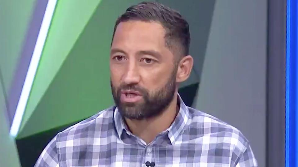 Pictured here, Benji Marshall speaks about his feelings towards former club, Wests Tigers.