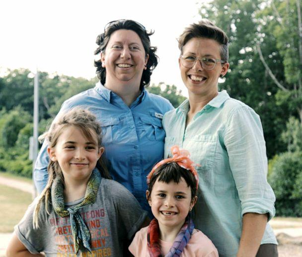 PHOTO: Brandy Welch (left) and Eden Rogers are pictured with their two daughters in this undated photo. (Nadia Awad/Lambda Legal)