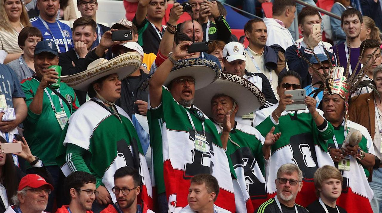 "<p>SOCHI, Russia (AP) – FIFA warned Mexico about the conduct of its fans on Tuesday at the Confederations Cup, but the country's coach maintained that the chants are not discriminatory.</p><p>The homophobic abuse was heard during Mexico's opening game against Portugal in Kazan on Sunday despite FIFA warning on the eve of the World Cup warm-up tournament that there would be tighter monitoring of offensive incidents in stadiums.</p><p>FIFA said disciplinary committee chairman Anin Yeboah ''decided to impose a warning on the Mexican Football Federation for the misconduct of a small group of Mexican fans in relation to insulting and discriminatory chants.''</p><p>Mexico has been sanctioned eight times over the same gay slurs by fans in the current World Cup qualifying campaign by international soccer's governing body.</p><p>''I understand why the crowd chants and I don't think the interpretation made internationally is right,'' <a rel=""nofollow"" href=""https://www.si.com/planet-futbol/2017/06/10/mexico-juan-carlos-osorio-chicharito-javier-hernandez-el-tri"">Mexico coach Juan Carlos Osorio</a> said through a translator ahead of Wednesday's Group A match against New Zealand at the Confederations Cup. ''I hope the Mexican federation will tell FIFA again that this doesn't mean what people think it means.''</p>"