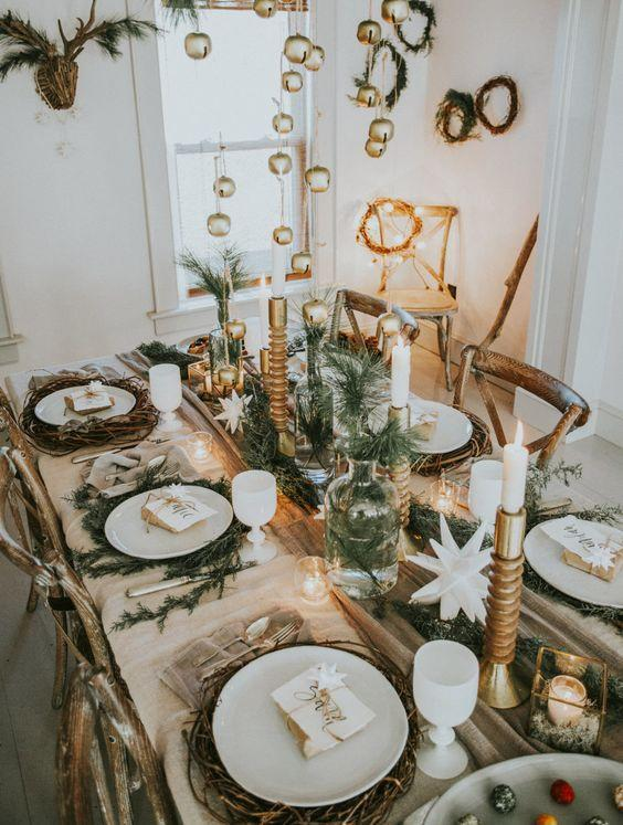 <p>Forget luxe table decor for one moment as pinecones and refreshingly simple florals are taking social media by storm this winter.<br><br>Pinterest noted a 67 percent increase in more neutral decor, so look to your local florist for dainty accessories this festive season. <em>[Photo: Pinterest]</em> </p>