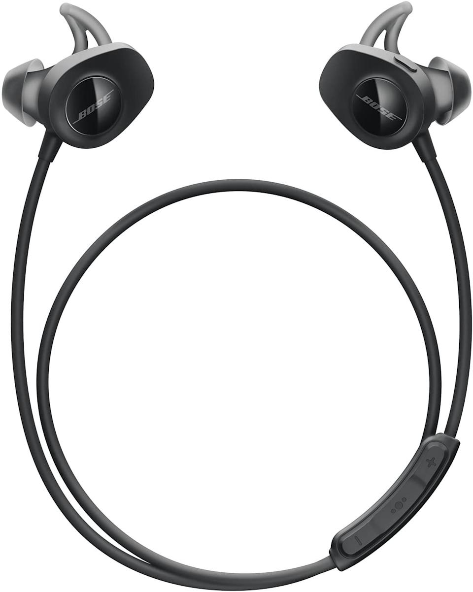 Save 20% on Bose SoundSport Wireless In-Ear Headphones. Image via Amazon.