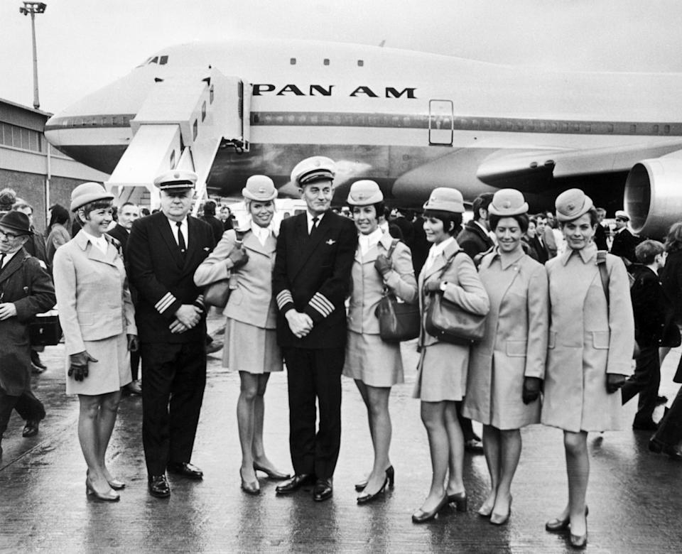 Pan Am launched the jumbo jet in 1970 - GETTY
