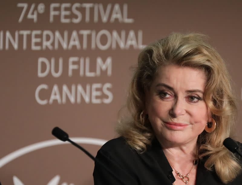"""The 74th Cannes Film Festival - News conference for the film """"De son vivant"""" Out of Competition"""
